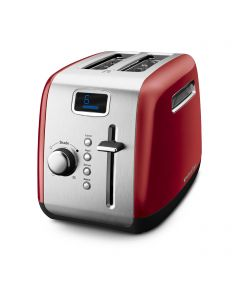 2-Slice Toaster with Manual High-Lift Lever and Digital Display