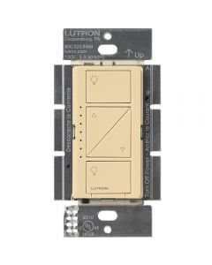 Lutron Caseta Wireless Electronic Low Voltage In-Wall Dimmer, Ivory