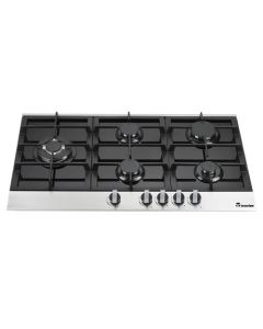 90 cm Gas Cooktop Aria With 5 Burners