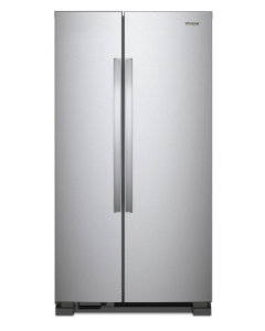 36-inch Wide Side-by-Side Refrigerator - 25 cu. ft