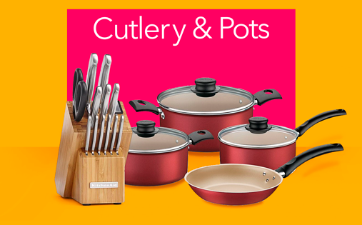 Cultery And Pots